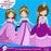 Princess in purple clipart Cliparts AMBillustrations    Mygrafico