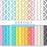 Rainbow Directional Arrow Digital Papers