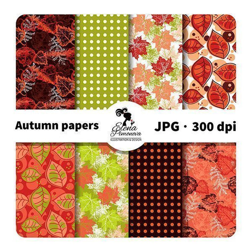 Autumn papers  Elena Pimonova    Mygrafico