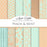 Peach & Mint Wedding Digital Paper  Avenie Digital    Mygrafico