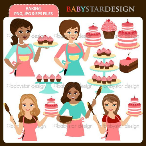 Baking by Babystar Design Cliparts Babystar Design    Mygrafico