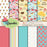 Cupcakes Papers and Backgrounds  Babystar Design    Mygrafico
