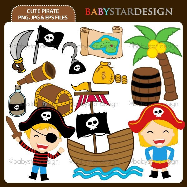 Cute Pirate  Babystar Design    Mygrafico