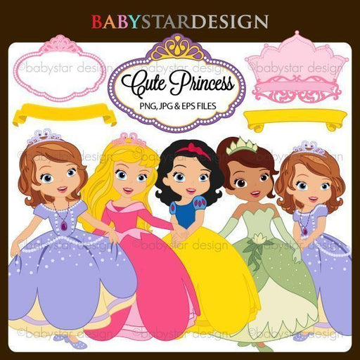 Cute Princess  Babystar Design    Mygrafico