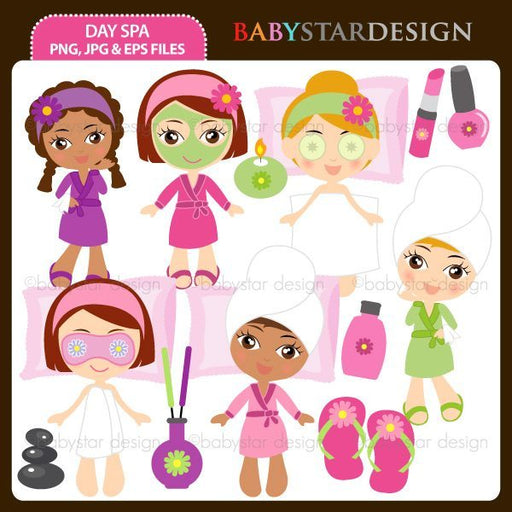 Day Spa  Babystar Design    Mygrafico