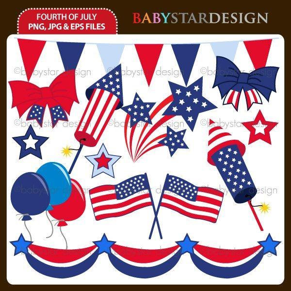 Fourth of July  Babystar Design    Mygrafico