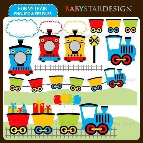 Funny Train  Babystar Design    Mygrafico