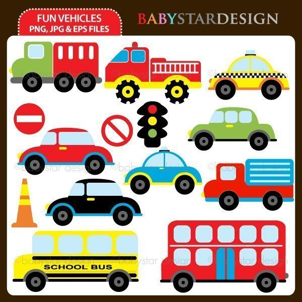 Fun Vehicles  Babystar Design    Mygrafico