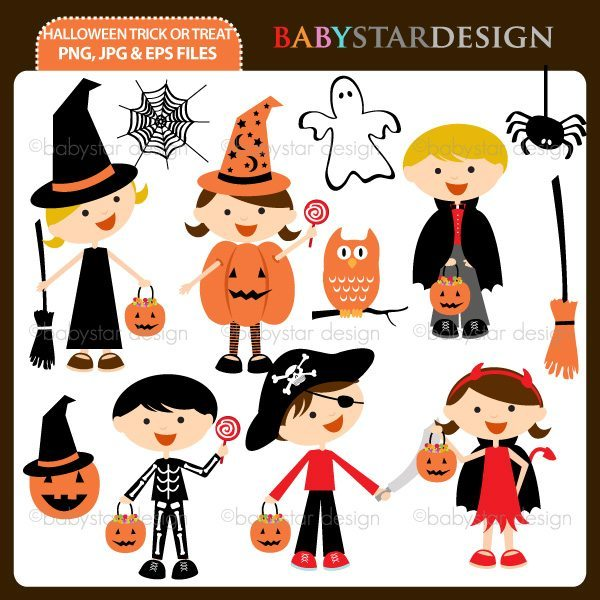Halloween Trick or Treat  Babystar Design    Mygrafico