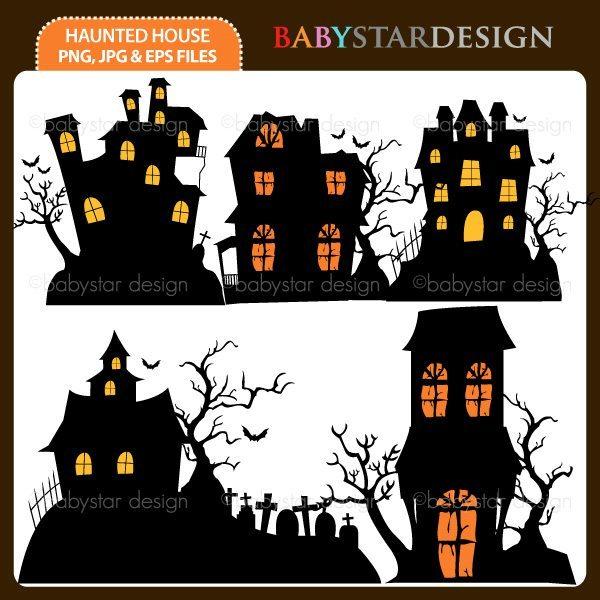 Halloween Haunted House  Babystar Design    Mygrafico