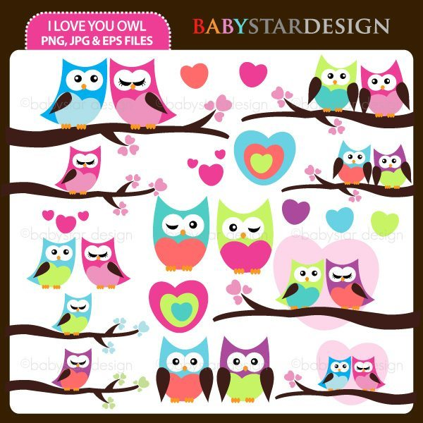 I Love You Owl  Babystar Design    Mygrafico