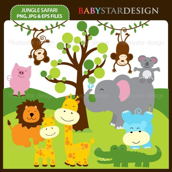 Jungle Safari  Babystar Design    Mygrafico