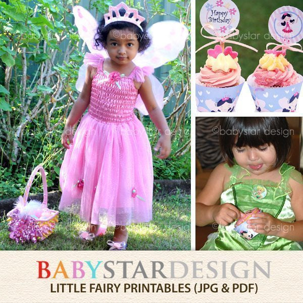 Little Fairy - Printables  Babystar Design    Mygrafico