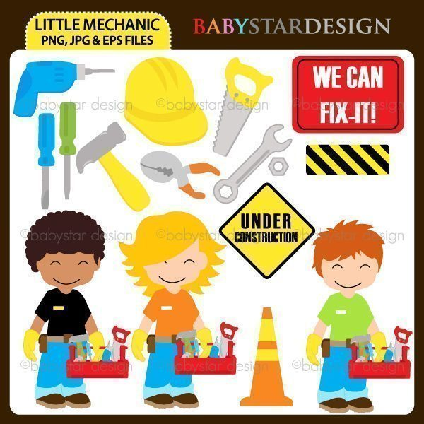 Little Mechanic  Babystar Design    Mygrafico