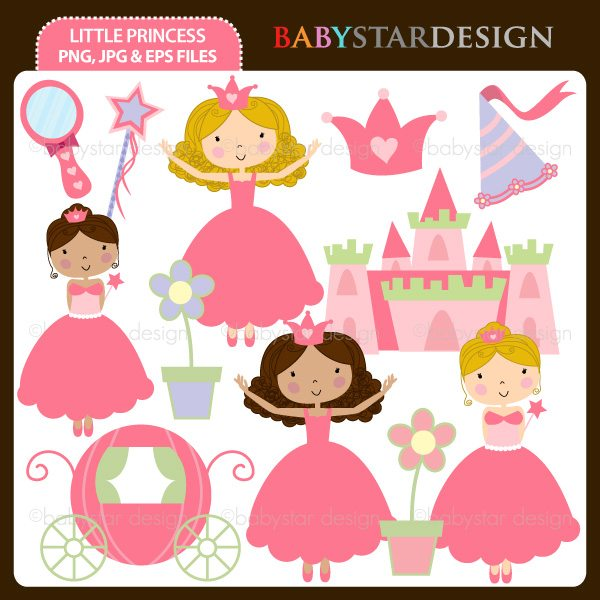 Little Princess Cliparts Babystar Design    Mygrafico
