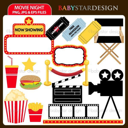 Movie Night  Babystar Design    Mygrafico
