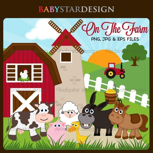 On The Farm  Babystar Design    Mygrafico