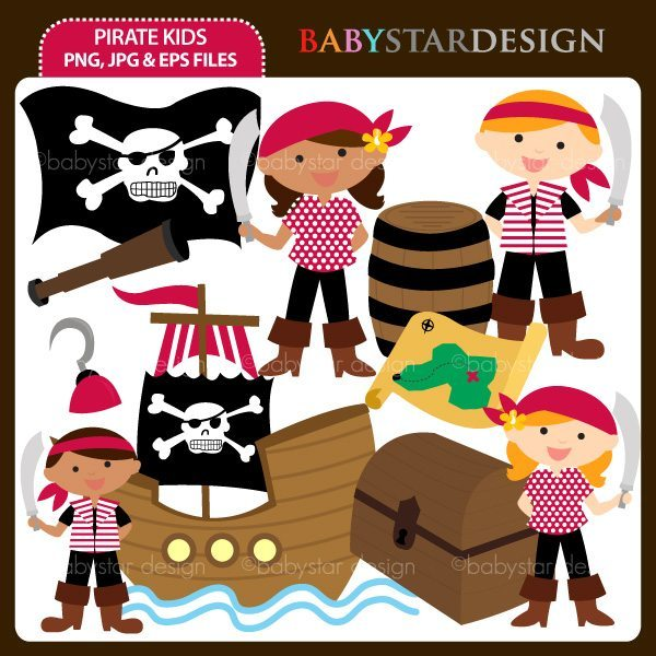 Pirate Kids  Babystar Design    Mygrafico
