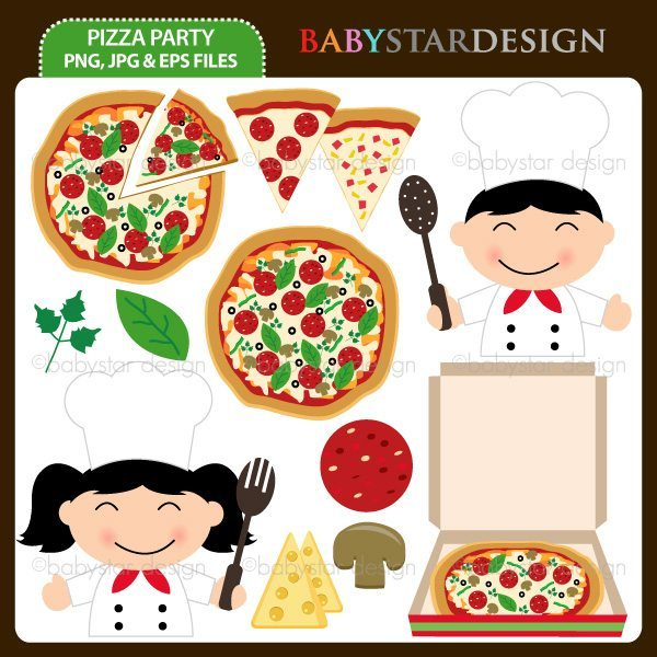 Pizza Party  Babystar Design    Mygrafico