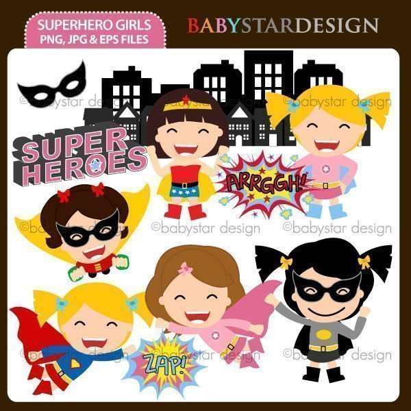 Superhero Girls  Babystar Design    Mygrafico