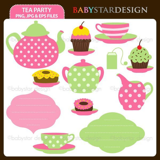 Tea Party  Babystar Design    Mygrafico