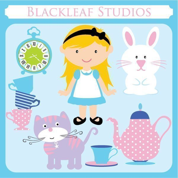 Alice in Wonderland  Blackleaf Design    Mygrafico