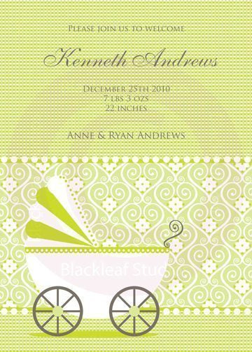 Baby Invitations  Blackleaf Design    Mygrafico