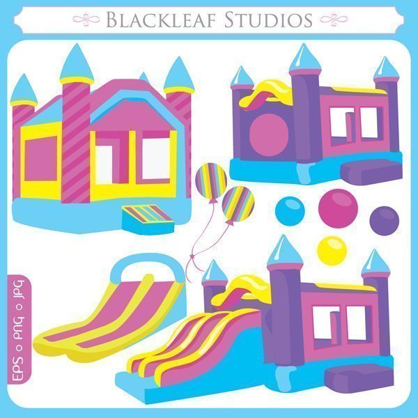 Bounce House  Blackleaf Design    Mygrafico