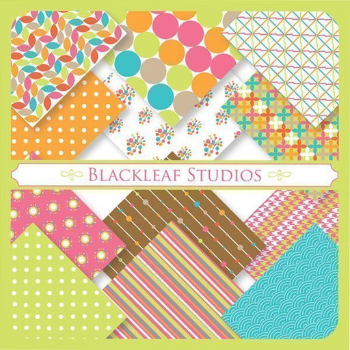 Bright and Light Patterns  Blackleaf Design    Mygrafico