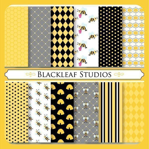 Busy Bee Papers  Blackleaf Design    Mygrafico