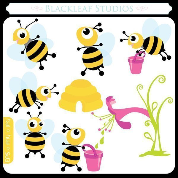 Busy Bee  Blackleaf Design    Mygrafico