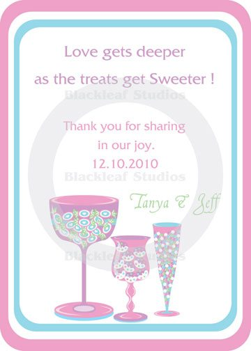 Candy Buffet Set 2  Blackleaf Design    Mygrafico