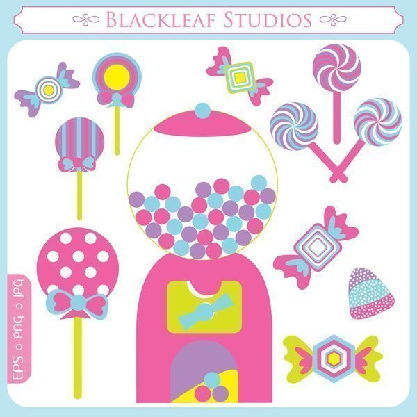 Candy Shoppe  Blackleaf Design    Mygrafico