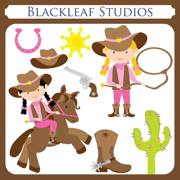CowGirls  Blackleaf Design    Mygrafico