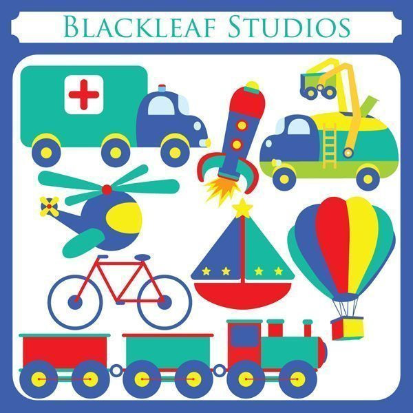 Cute Transport  Blackleaf Design    Mygrafico