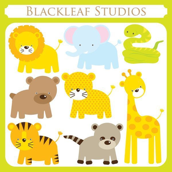 Jungle Life  Blackleaf Design    Mygrafico