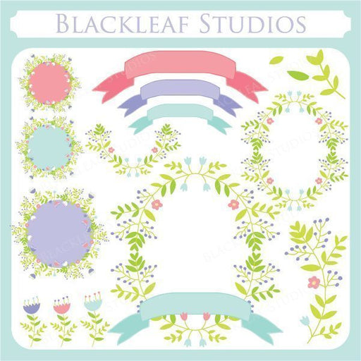 Laurels and Wreaths  Blackleaf Design    Mygrafico