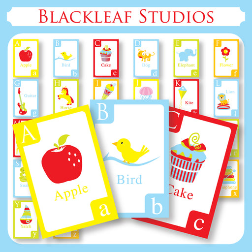 Fun Alphabets A-Z Cliparts Blackleaf Design    Mygrafico