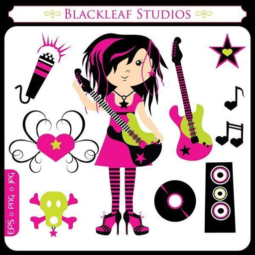 Little Rock Star Diva  Blackleaf Design    Mygrafico