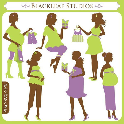 Mommy-To-Be SVG Set  Blackleaf Design    Mygrafico