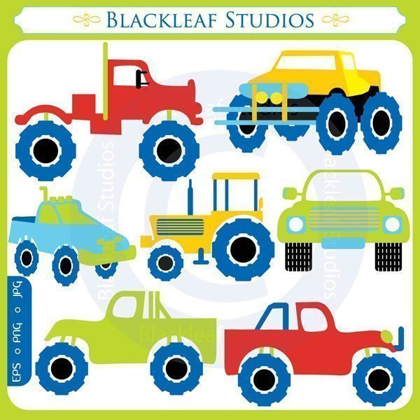 Monster Trucks  Blackleaf Design    Mygrafico