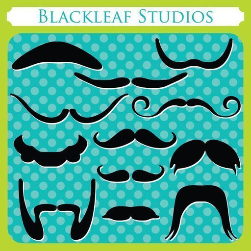 Mustaches  Blackleaf Design    Mygrafico