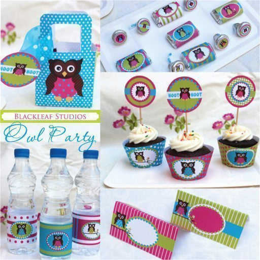 Owl Party  Blackleaf Design    Mygrafico