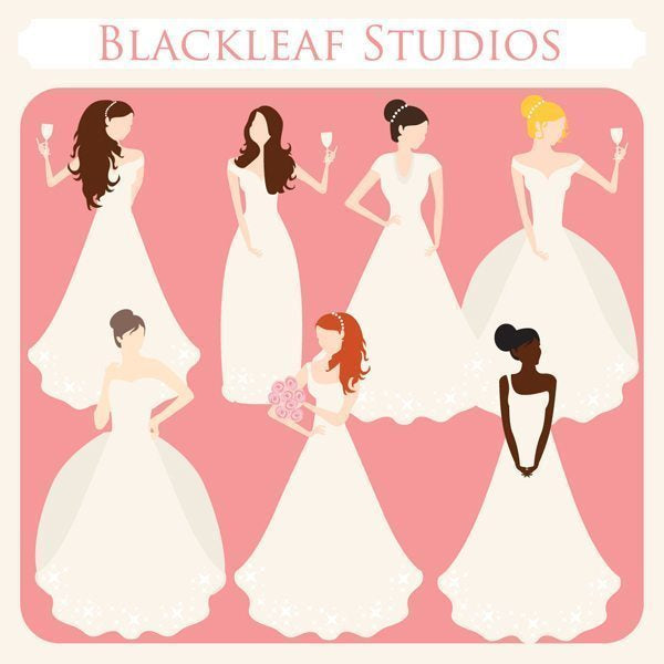Peaches and Cream Brides  Blackleaf Design    Mygrafico