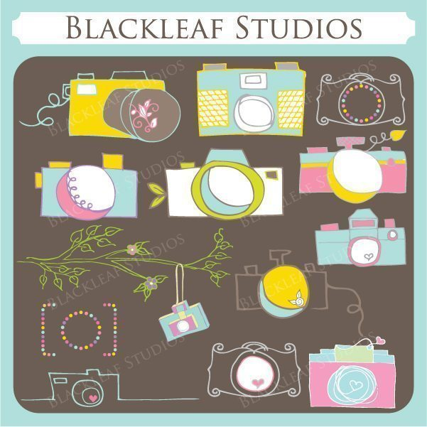 Photographers Retro Camera  Blackleaf Design    Mygrafico