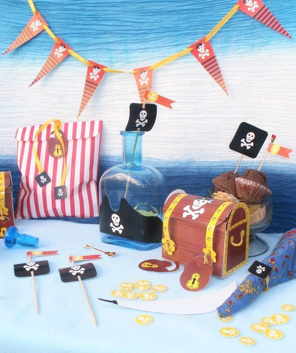 Pirates Printable Party Set  Blackleaf Design    Mygrafico