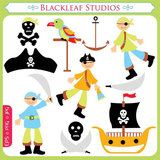 Pirates  Blackleaf Design    Mygrafico