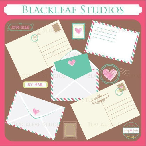 Love Letters and Post Cards  Blackleaf Design    Mygrafico