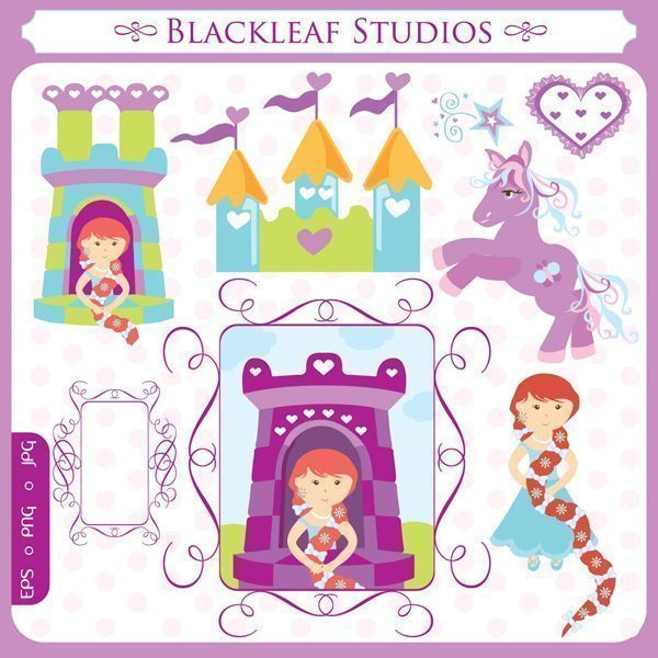 Rapunzel  Blackleaf Design    Mygrafico