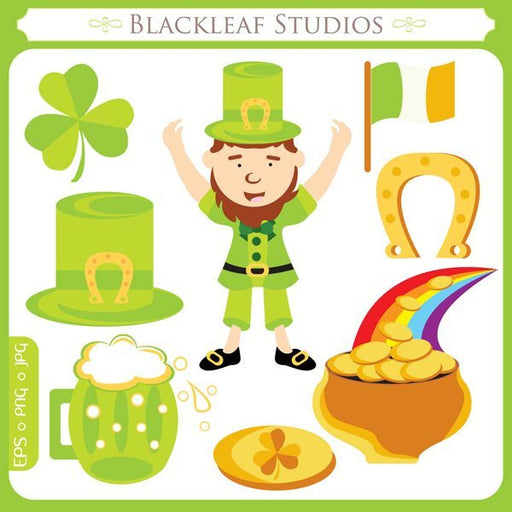 St Patricks Day  Blackleaf Design    Mygrafico